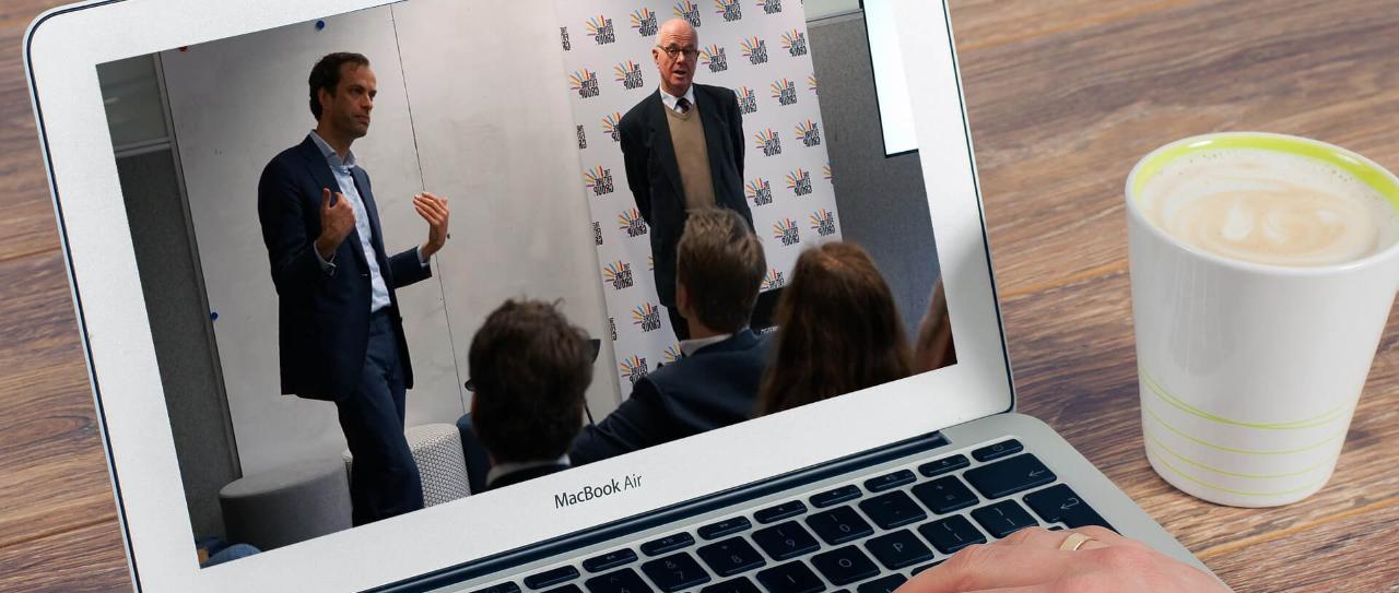 Virtuele politieke ronde tafel Johan Zwemmer