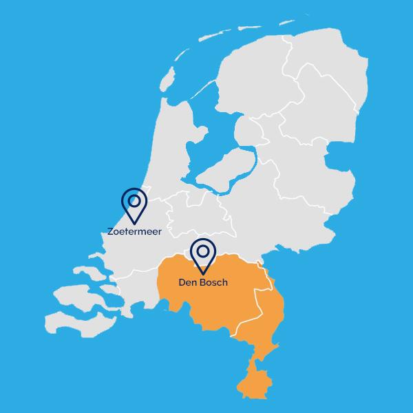 Kaartje nederland 2