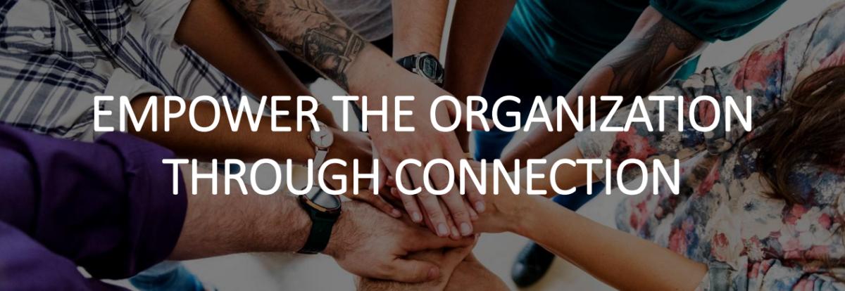 empower the organization through connection
