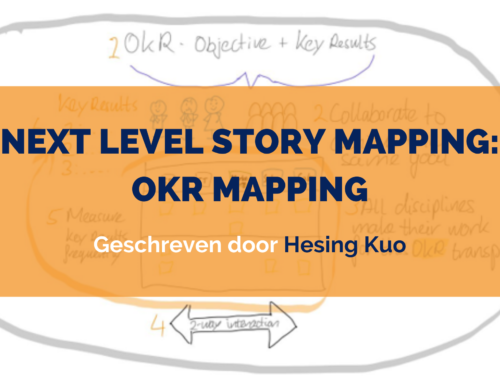 Next level Story Mapping: OKR Mapping